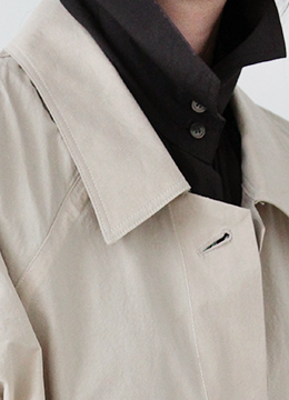 [2/7-2/8 5% discount] MOND SINGLE TRENCH_BEIGE (164000→156000)
