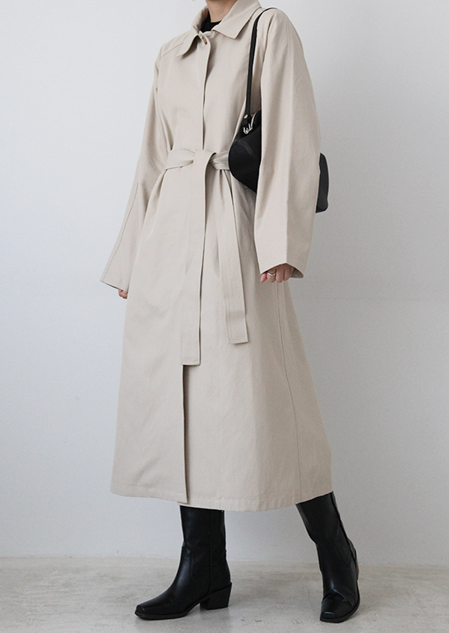 SINGLE TRENCH COAT (2c)