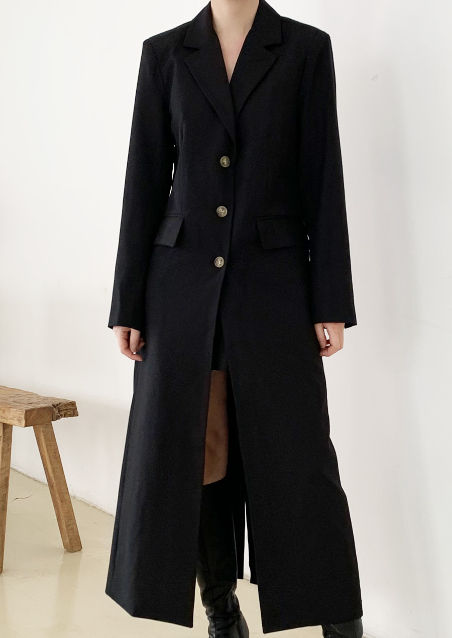 SLIM LINE LONG COAT (2c)