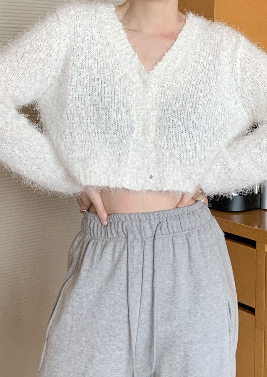 POP CROP CARDIGAN